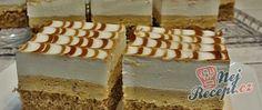 Krémové karamelové řezy