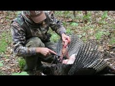 How To Clean A Turkey - Will Brantley of Realtree.com gives step-by-step instructions on how to clean a turkey. #turkeyhunting