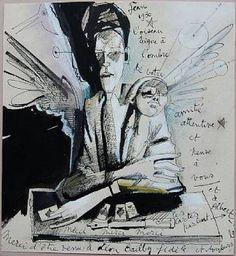Jean Cocteau, Autorretrato, 1930