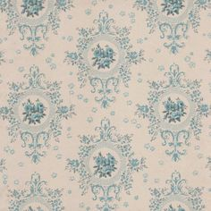 In 1748 the British Ambassador to Paris decorated his salon with blue flock wallpaper, which then became very fashionable there. In the 1760s the French manufacturer Jean-Baptiste Réveillon hired designers working in silk and tapestry to produce some of the most subtle and luxurious wallpaper ever made. His sky blue wallpaper with fleurs-de-lys was used in 1783 on the first balloons by the Montgolfier brothers.