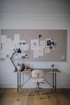 Creative Home Office Design Ideas. Thus, the requirement for home offices.Whether you are intending on adding a home office or refurbishing an old space into one, right here are some brilliant home office design ideas to help you begin. Office Interior Design, Home Office Decor, Office Interiors, Home Decor, Tiny Home Office, White Interiors, Desk Office, Office Setup, Office Organization