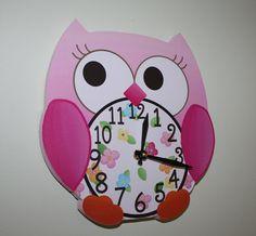 owl clock!