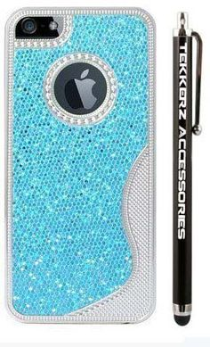 #iphone5 #sky #blue #sparkle #glitter #love