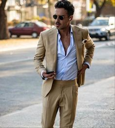 Business Casual Outfits, Office Outfits, Mens Fashion Blog, Sport Casual, Mens Suits, Gentleman, Clothes, Style, Mens Suits Style