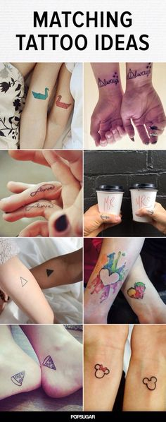 Matching tattoos!