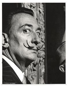 Citation: Salvador Dali, ca. 1950 / Alfredo Valente, photographer. Alfredo Valente papers, Archives of American Art, Smithsonian Institution.