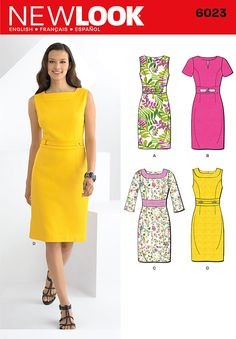 Purchase New Look 6023 Misses' Dresses and read its pattern reviews. Find other Dresses sewing patterns.