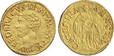 NumisBids: Nomisma Spa Auction 50, Lot 115 : MANTOVA Federico II Gonzaga (1519-1540) Ducato – CNI 17; R.M. 6 AU...