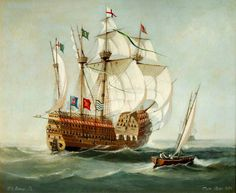 The Mary Rose was a carrack-type warship of the English navy of King Henry VIII. After serving for 33 years in several wars against France, Scotland, and Brittany and after being substantially rebuilt in 1536, she met her final fate while leading the attack on the galleys of a French invasion fleet.