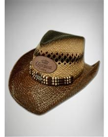 Miller Lite Straw Cowboy Hat! This is a straw cowboy hat with a ... 03cb9e76cb9