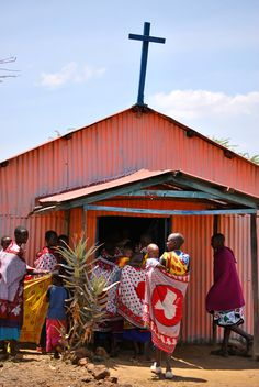 Church in Rift Valley