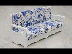 tutorial: miniature sofa