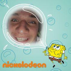 Mam selfie ze SepongeBobem! Ty też możesz takei mieć! Ściągnij aplikację Sponge Master za darmo i wygrywaj SpongeBobowe nagrody :)