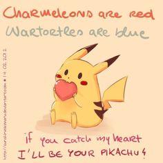 Pokemon pickup line