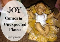 For when you lose your joy at Christmas (or any other time!) | thereisgrace.com