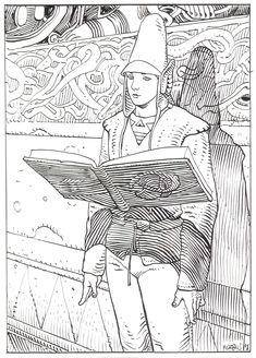 moebius - starwatcher - lecture