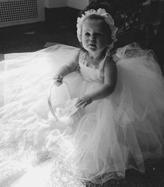 Lilly: Toddler  Lace &Tulle Dress Baby Lace Dress by NanaKStitches