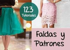 Faldas 123 Diys Tutoriales con Patrones - enrHedando Do it yourself skirt tutorials for skirts. post updates so the number may increase over time. Dress Tutorials, Sewing Tutorials, Sewing Clothes, Diy Clothes, Look Fashion, Diy Fashion, Sewing Paterns, Diy Vetement, Skirt Tutorial