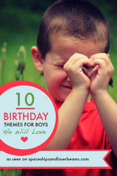 Birthday Party Themes for Boys