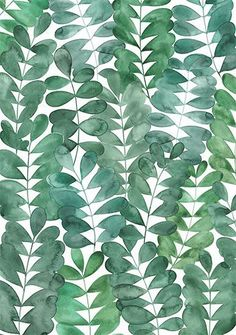 New plants pattern illustration inspiration ideas L Wallpaper, Pattern Wallpaper, Wallpaper Backgrounds, Leaves Wallpaper, Wallpaper Quotes, Green Pattern, Pattern Art, Nature Pattern, Pattern Paper