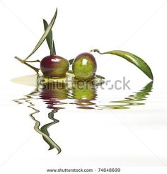 Oliven Mit Wasser Stockfotografie | Shutterstock