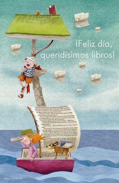 Las ilustraciones de Mónica Carretero | Las Lecturas de Mr.Davidmore