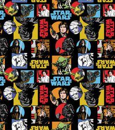 Licensed Cotton Fabric- Star Wars Cartoon: licensed fabric: fabric: Shop | Joann.com Star Wars Room, Star Wars Decor, Star Wars Fan Art, Star Wars Pictures, Star Wars Images, Star Wars Wallpaper Iphone, Cuadros Star Wars, Star Wars Cartoon, Anniversaire Star Wars