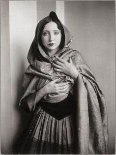 Brassaï :: Anaïs Nin draped on a shawl, 1932 more [+] by this photographer
