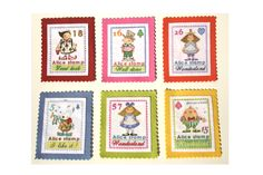 Alice, Kawaii, Stamp, Home Decor, Decoration Home, Kawaii Cute, Room Decor, Stamps, Kauai