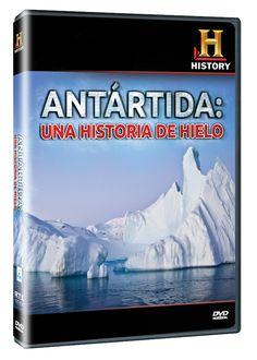 Diseño publicitario de DVD's - Stop Diseño Gráfico - Diseño de Antártida: una historia de hielo - History Channel.