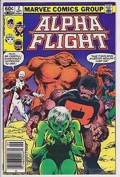 Alpha Flight #2 Marvel Comics 1982 NM 8.5+