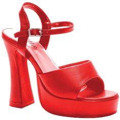 Platform Lea Red Size 13