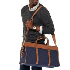 FOSSIL® Bag Styles Backpack & Travel Bags:Men Estate Varsity Duffle MBG9052
