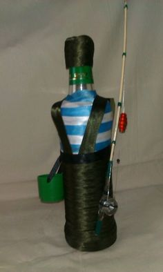 Bottles And Jars, Glass Bottles, Wine Glass, Wine Bottle Crafts, Bottle Art, Wine Bottle Centerpieces, Wine Bottle Covers, Altered Bottles, Wine Stoppers