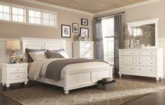 What do you think of white bedroom sets? Love 'em or hate 'em? #Bedroom #Furniture  #HomeDecor