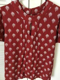 Carousel Women's / Girls  Wine/Red short sleeved Top Size 12 #carasol