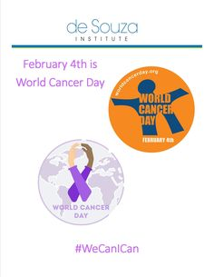 #Awareness   Today is the day!   February 4th is #WorldCancerDay   For more information say tuned!   Or take a look at World Cancer Day's website:     http://www.worldcancerday.org/about     #WeCanICan   #deSouzaInstitute