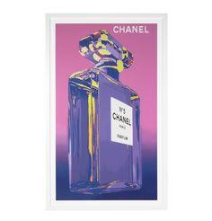 Chanel Perfume Framed Print - 98 x 158 - Matt Blatt