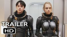 Valerian and the City of a Thousand Planets Official Trailer #1 (2017) C...