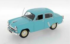 IST 1/43 scale diecast model 1962 Moskvitch 403