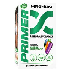 Magnum Nutraceuticals Primer Performance Packs   Multi Vitamin - Supplement Superstore Supplement Superstore, Pharmaceutical Manufacturing, Modified Starch, Multi Vitamin, Good Manufacturing Practice, Find People, Key Ingredient, How To Increase Energy, How To Better Yourself