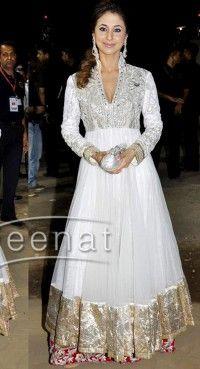 Glamorous Ivory Salwar Kameez