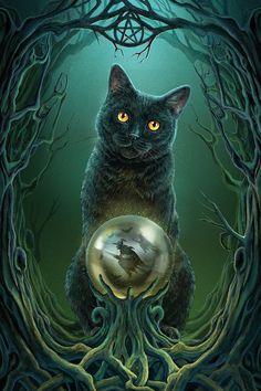 Holidays Halloween Art Cross Stitch Pattern__Halloween Cat, Rise Of The Witch___ Magic Cat, Black Cat Art, Black Cats, Witch Cat, Halloween Cat, Holidays Halloween, Halloween Outfits, Cat Drawing, Cool Cats