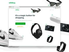 Wikibuy.com Homepage by Dann Petty #Design Popular #Dribbble #shots