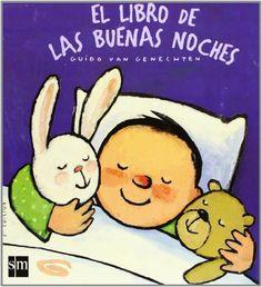 El libro de las buenas noches (Libros de cartón) de Guido van Genechten http://www.amazon.es/dp/8467523115/ref=cm_sw_r_pi_dp_5t6Svb0YHNGC5