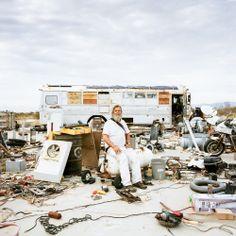 The Migratory Lives of the Eternal RV Crowd | Gizmo Joe. Slab City, CA 2013   | WIRED.com