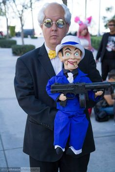 Ventriloquist & Scarface Cosplay by Trinity All-Stars - Photo by © Alvin Johnson Photography