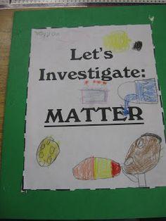Third Grade Thinkers: Matter: Make and Take Study Guides