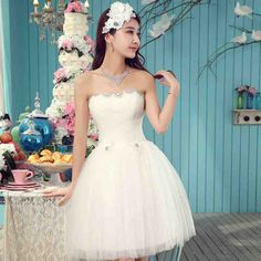 Short Wedding Dresses Under 100