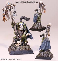 Goblin Shaman  Painted by Rich Goss  www.sabrestudio.co.uk
